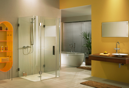 Woher Duschabtrennung aus Glas bekommen?
