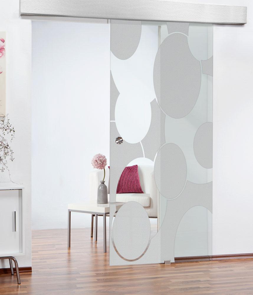 Glasschiebetüren steigern die Raumwirkung
