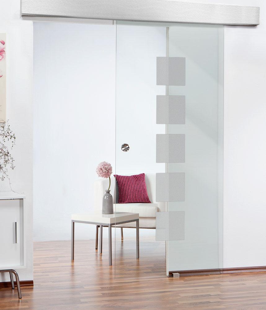 Glas und Glasschiebetüren