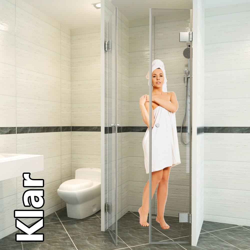 Klar duschtüren