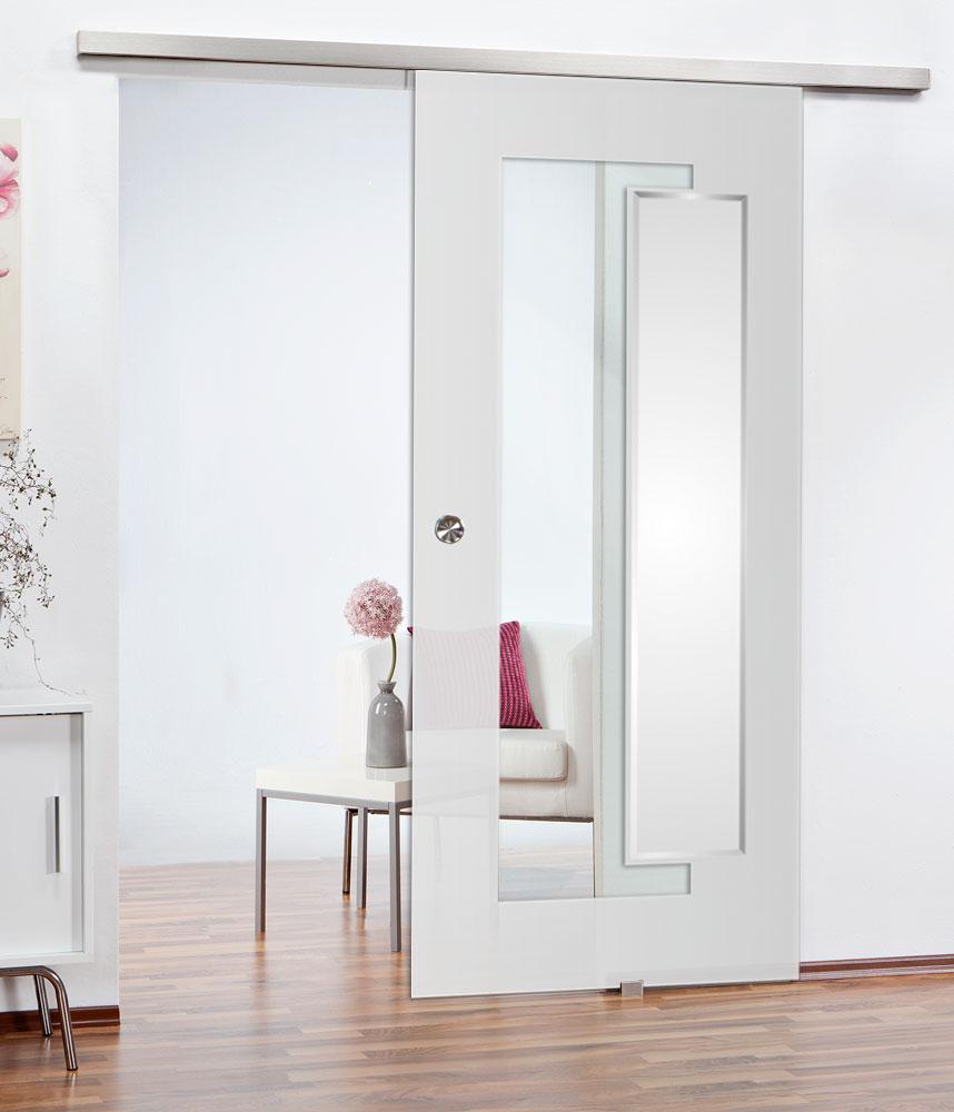 Glasschiebetüren mit modernem Dekor und elegantem Ambiente